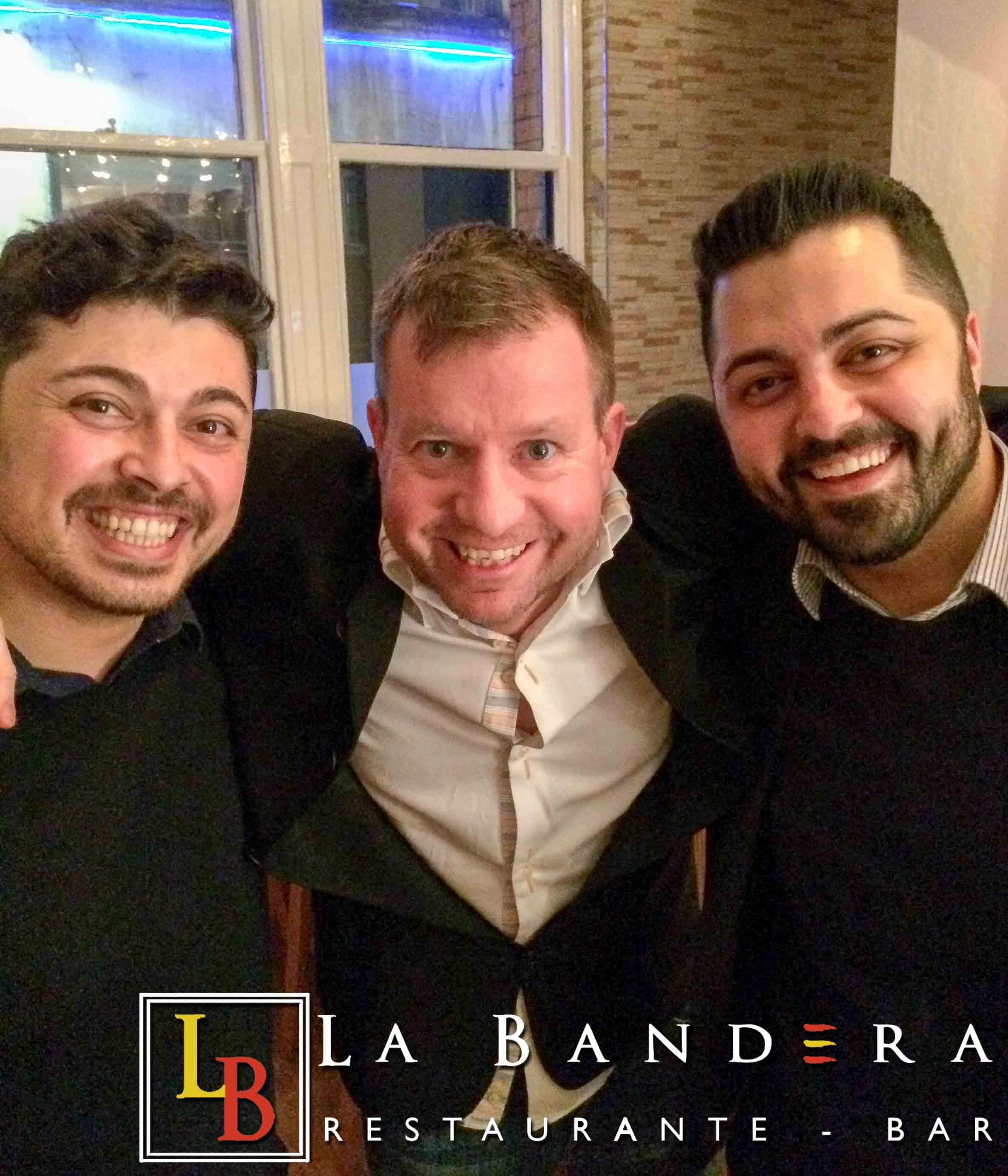 Andrew Nutter at La Bandera Restaurant