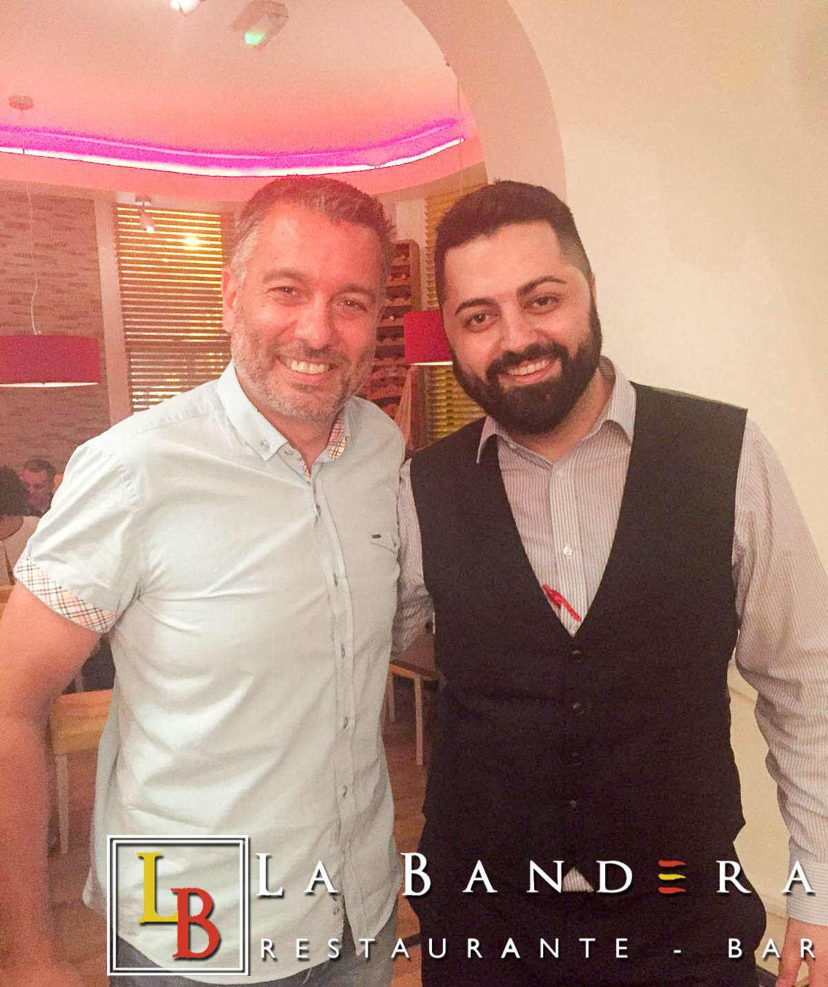 Guillem Balague at La Bandera