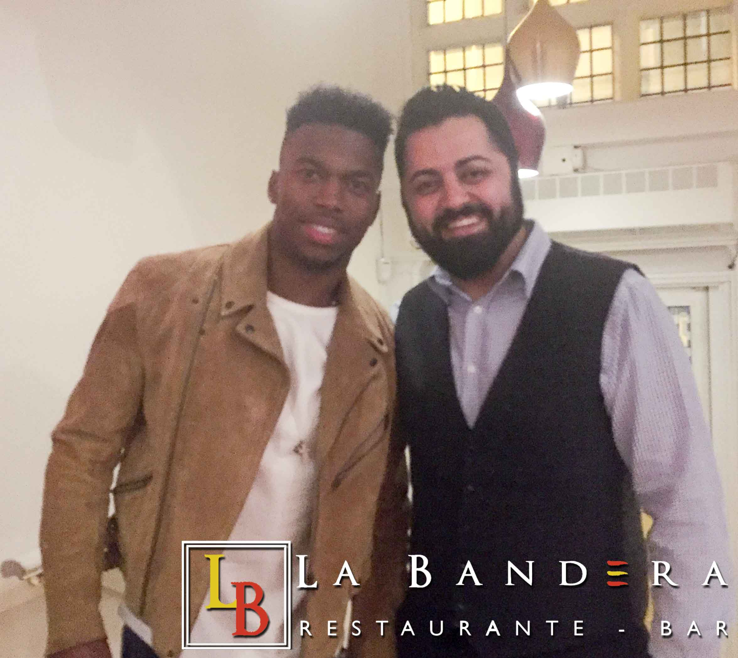 Daniel Sturridge at La Bandera