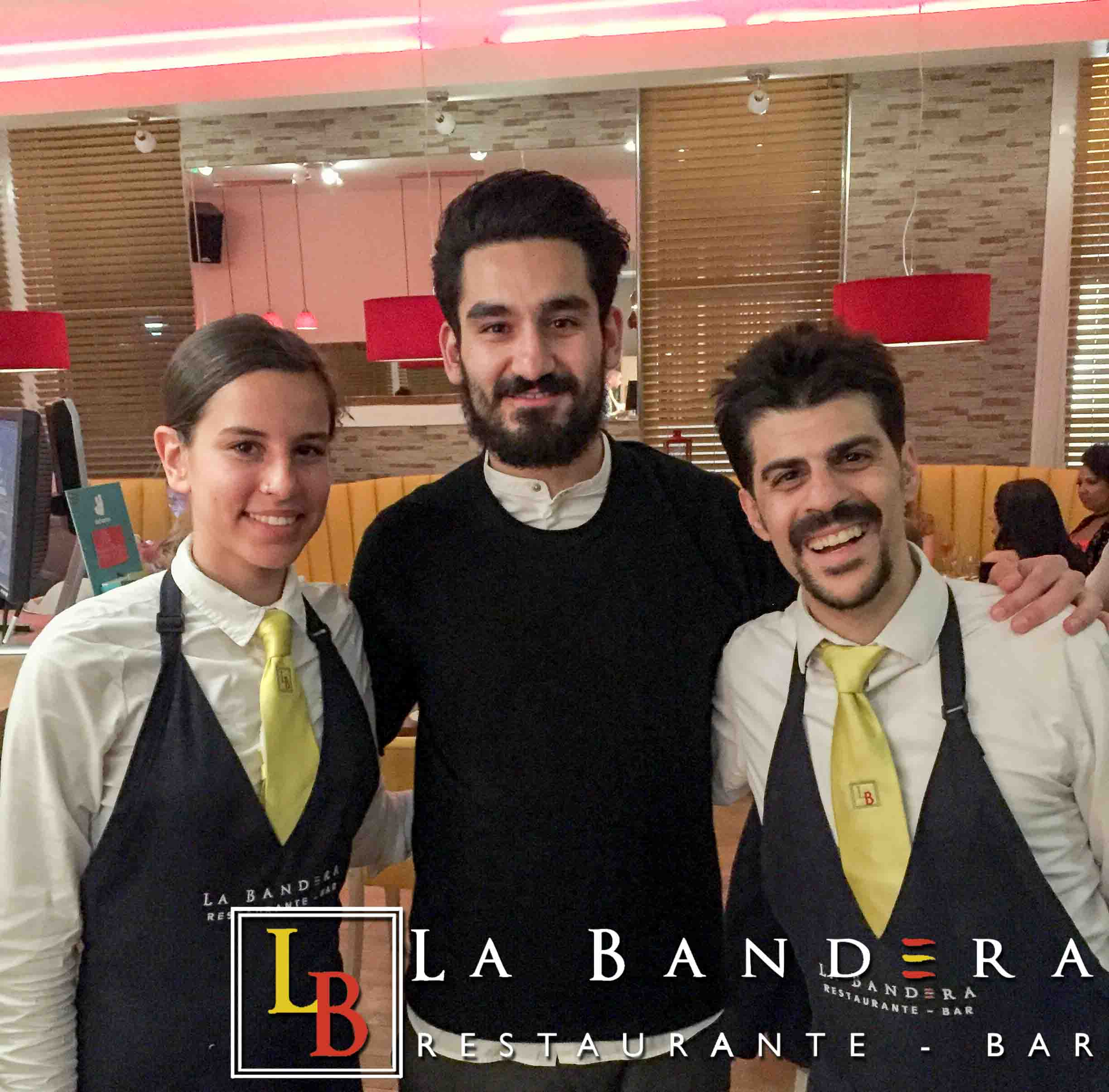 Ilkay Gundogan at La Bandera