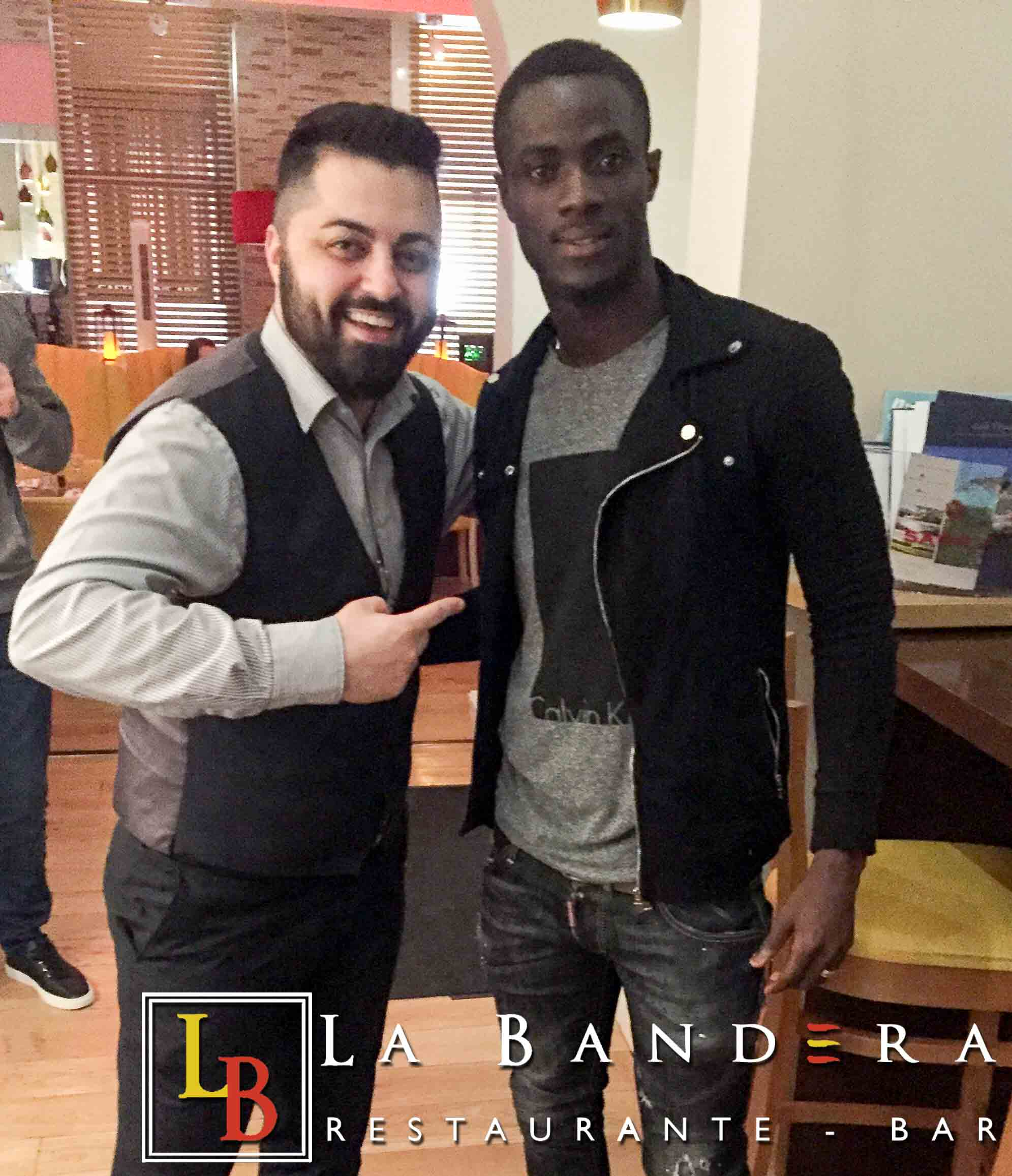 Eric Bailly at La Bandera